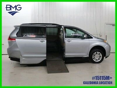 2014 Toyota Sienna VMI Power Wheelchair Handicap Van Lowered Floor Kneel 2014 XLE V6 Wheel Chair Van Handicapped Accessible Power Ramp 46k Miles
