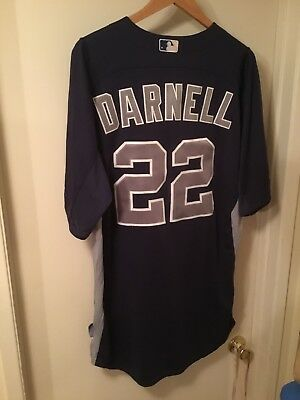 812b08d76 James Darnell Padres Batting Practice Game Used Jersey South Carolina  Gamecocks