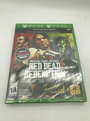 NEW Red Dead Redemption: Game of the Year Edition XBOX ONE / XBOX 360 SEALED