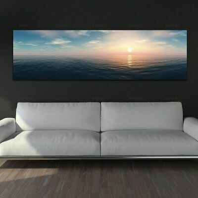Sunrise Wall Art Picture Landscape Canvas Painting For Living Room Home Decor