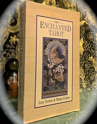 Zerner / Farber: The Enchanted Tarot ~ Scarce 1St Edn 1990 ~ Occult Divination