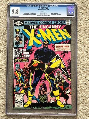 X-Men #136 CGC 9.8 w pages. Lilandra appearance. President Jimmy Carter cameo