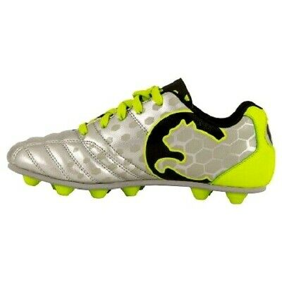 0fce82f16256 PUMA PROCAT YOUTH Kids Black Yellow Neon Soccer Cleats Shoes SIZE 5 ...