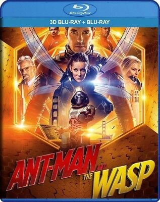 Ant-Man and the wasp(3D)+Gnome alone(3D)offer price 2in1 *only blu ray free ship