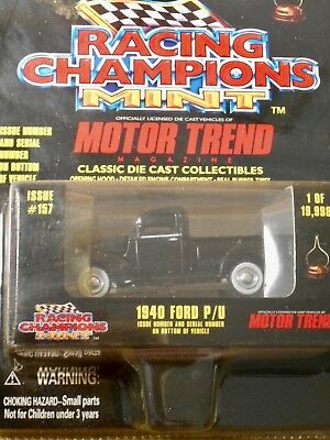 Racing Champions 1940 Ford P/u - 1:64Th Scale  Die-Cast