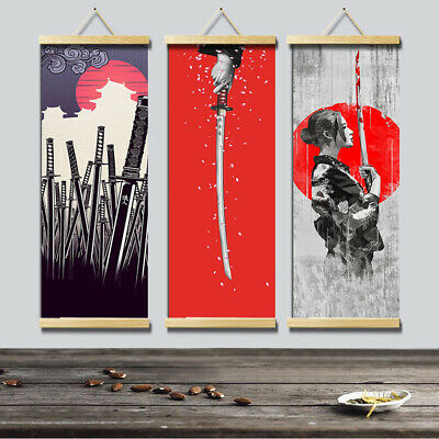 HD Canvas Painting Wall Art Poster Japanese Style Hanging Picture Home Decor