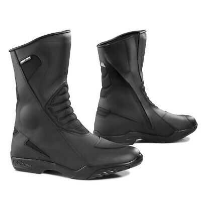 Forma Poker motorcycle boots, mens, black, road street waterproof riding touring
