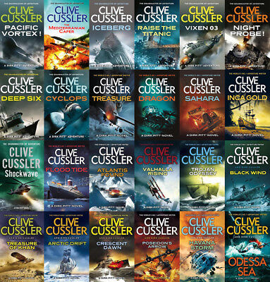 The Complete DIRK PITT Series By Clive Cussler (24 MP3 Audiobook Collection)