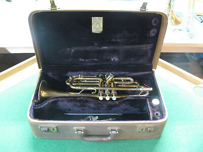 Bach Mercury New York Cornet - Reconditioned - Complete with Original Case