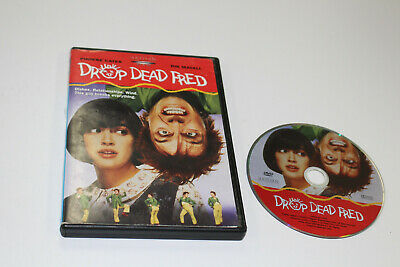 Drop Dead Fred (1991) (DVD, 2003) Rare OOP Phoebe Cates Rik Mayall!