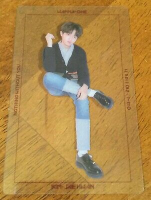 Wanna One Kim Jaehwan Nothing Without You One Version Official Transparent PC