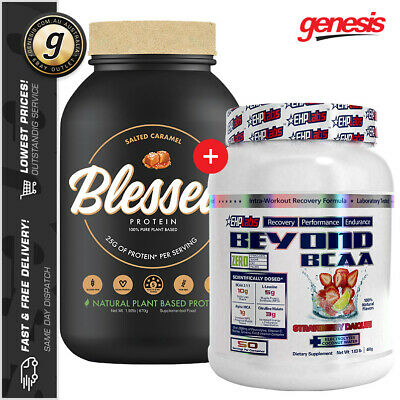 Blessed Protein by Clear Vegan EHP + Beyond BCAA - Recovery Pack!