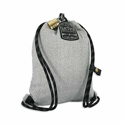 LOCTOTE Flak Sack SPORT - Lightweight Theft-Resistant Drawstring Backpack | L...