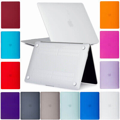 """For 2018 A1932 MacBook Air 13"""" Clear Matte Shockproof Case Cover Rugged Shell"""