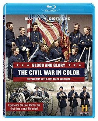BLOOD & GLORY: THE CIVIL WA...-BLOOD & GLORY: THE CIVIL WAR IN COLO Blu-Ray NEUF