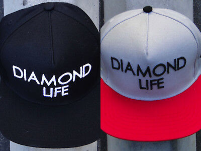 1ef3e8b4805 New Diamond Supply Co. Scrip LIFE Mens Snapback Hat One size Fit