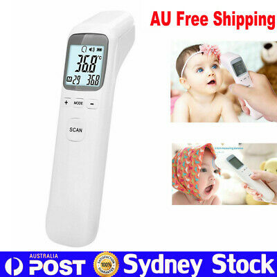 Digital LCD Medical Adult Baby Forehead Thermometer Infrared Temperature Tester
