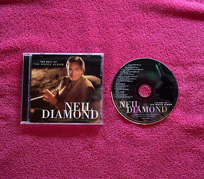 """NEIL DIAMOND : The Best of the Movie Album """"Like New"""" Free Shipping!"""