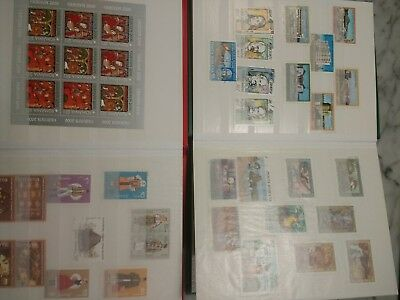 Romania Stamp Collection, Organized Into Two Books, hundreds of stamps