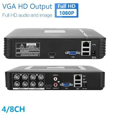 4/8CH Full HD CCTV 720/1080P CCTV/DVR/AHD Record Home Outdoor Security System