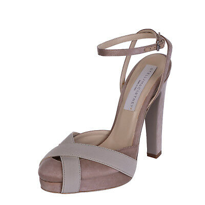 STELLA MCCARTNEY Ankle Strap Heel Shoes Size 36 UK 3 Made in Italy