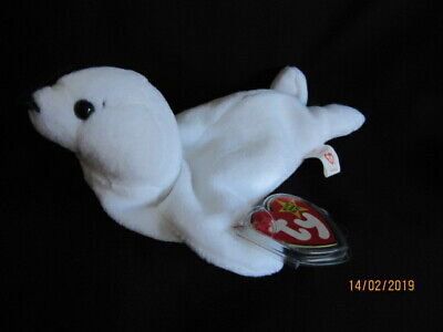 Ty Beanie Baby Seamore - The Seal - Mint - Retired