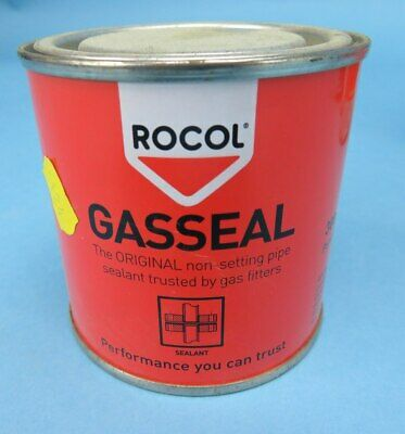 ROCOL GASSEAL Non Setting Pipe Sealant 300g Gas Seal Paste Pipe Joint Threads