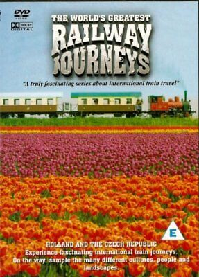 DVD The World's Greatest Railway Journeys - HOLLAND and THE CZECH REPUBLIC