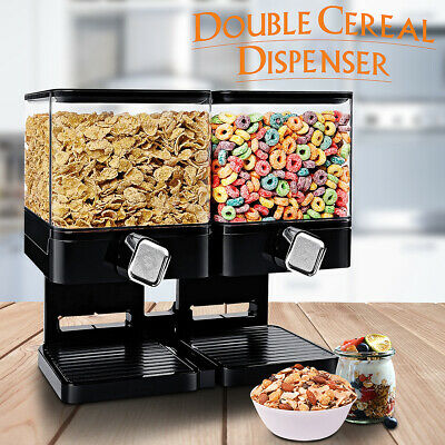1/2/3/4X Automatic Large Food Drink Dispenser Pet Dog Cat Feeder Water Dish Bowl