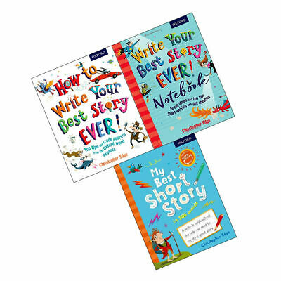Christopher Edge Collection How to Write Your Best Story Ever 3 Books Set NEW