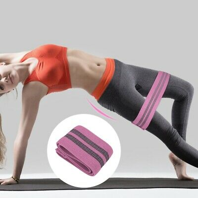 Fitness Resistance Band Rope Cotton Elastic Exercise For Gym Yoga Pilates SP