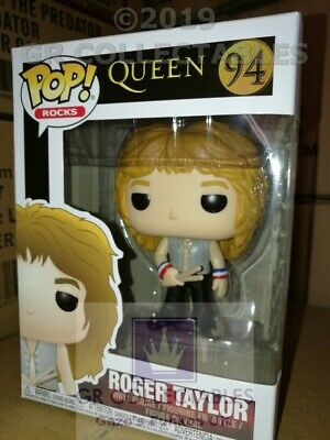 Pop Rocks Queen Roger Taylor Funko Pop! Vinyl