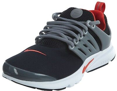 3ae373c3c939 NEW YOUTH NIKE PRESTO sz 7Y BLACK Gray Red White Running Shoes Sneakers