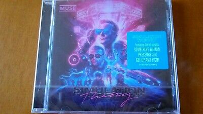 "MUSE CD ""Simulation Theory"" NEU + OVP mit Something Human, Propaganda, Pressure"