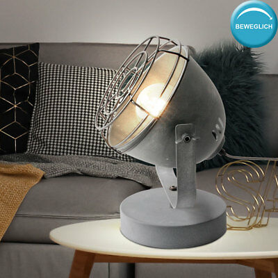 Lampe De Table Retro Vintage Industrie Loft Spot Chevet Lumiere