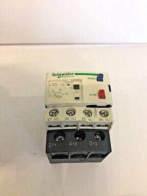 Schneider Electric LRD14 Thermal Overload Relay 7 To 10 Amp