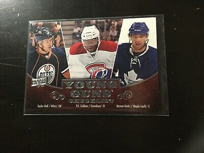 UD 2010-11 Hall, P.K.Subban,Kadri 250 Young Guns Header Card