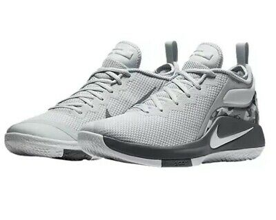 03802837fc89d Men s Nike LEBRON WITNESS II BASKETBALL SHOES WHT COOL-GREY 942518 002 Size  10