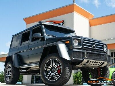 2017 G-Class G 550 4x4 Squared 2017 Mercedes-Benz G 550 4x4 Squared Celebrity Owned 1 OF ONLY 300!