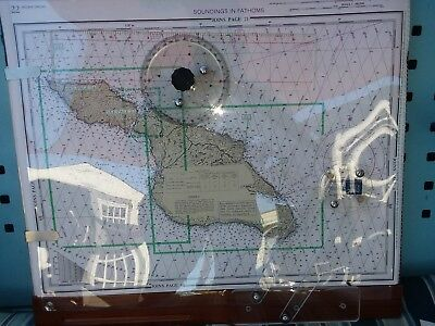 NAUTICAL CHART KIT PLOTTER w/compass -Southern Cal to Mexico + Channel Islands