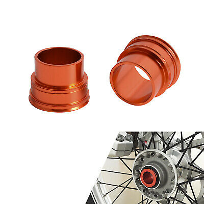Front Wheel Spacer Kit For KTM 200 250 300 400 450 525 530 XCW SMR EXC F 03-15