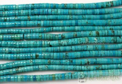 """8mm Beads Natural 4mm Gemstone Heishi 12mm 3mm Spacer 16"""" Turquoise 10mm 6mm"""