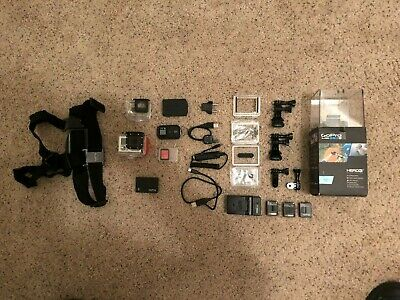 GoPro HERO3+ Plus Black Edition - Barely Used - Excellent with loads of extras!
