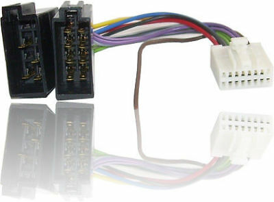 ISO Wiring Harness connector/adaptor PANASONIC 16 PINS COMPLETE QUALITY NEW