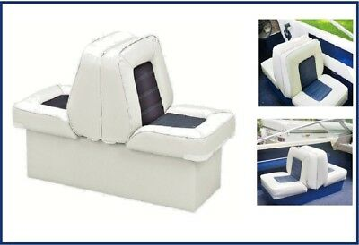 Back-To-Back Boat Seat Cover White #40210