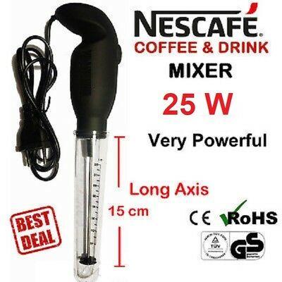 Mixer Handheld Frother Nescafe Frappe Greek Maker Electric Coffee Dispatch 25W