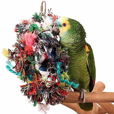 Multi Preener Parrot Toy - Great for Parrots Who Love To Preen.