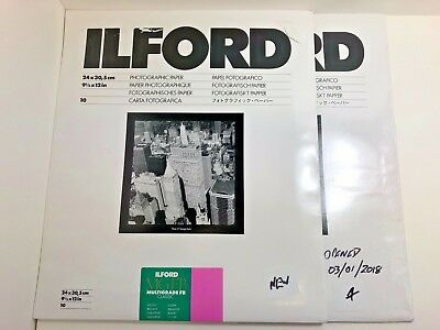 Ilford MGIV FB CLASSIC Glossy Size: 9.5 x 12 in