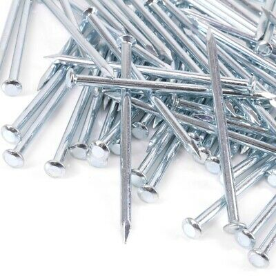 ROUND HEAD MASONRY NAILS CHOOSE SIZE 65mm - 100mm Picture Hanging Canvas Frame