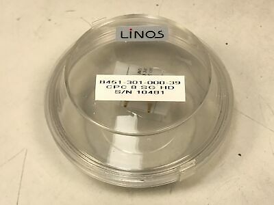 LINOS KD*P CPC 8 SG HD Pockels Cells Laser Q-Switch AR 1064nm 7.5mm Dia Qioptiq